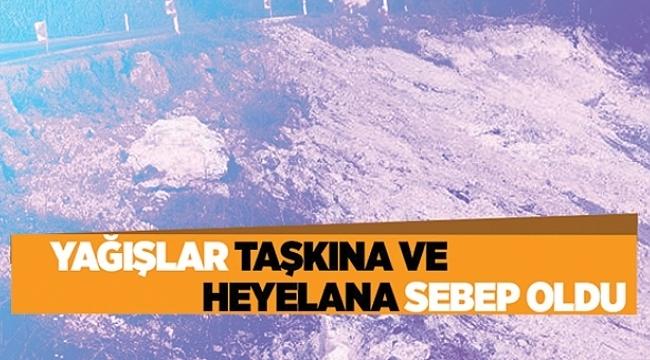 Samsun'da heyelan uyarısı