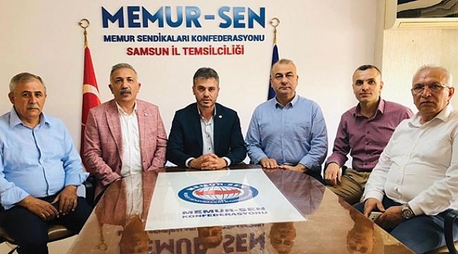 Samsun Memur-Sen il yönetimi seçildi