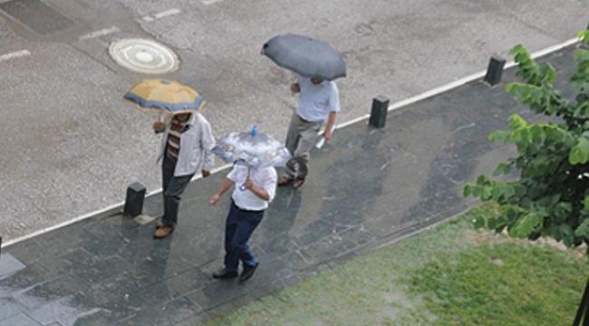 Samsun yağmura teslim