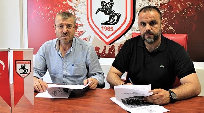 Samsunspor iş birliğine devam ediyor