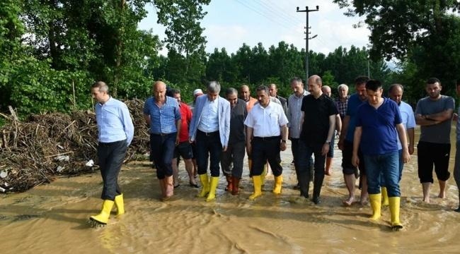 Valilik: Sel Felaketinin Yaraları Sarılıyor