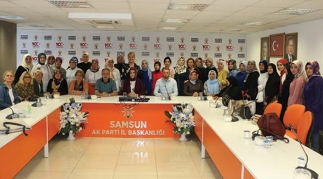 AK Parti Samsun Srebrenitsa soykırımını unutmadı