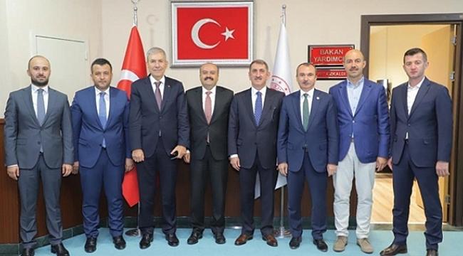 Başkan Kılıç Terme'yi Ankara'ya taşıdı