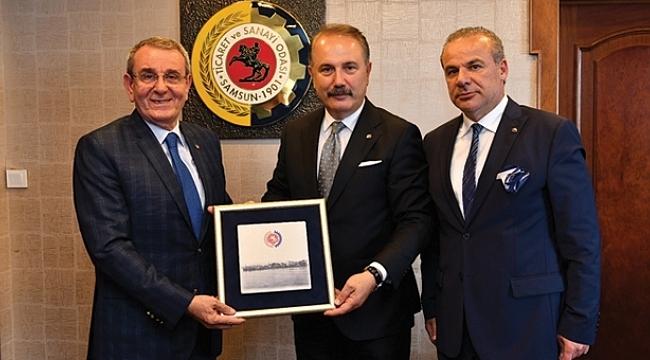 Başkan Murzioğlu Genel Müdür Üstünsalih'i ağırladı