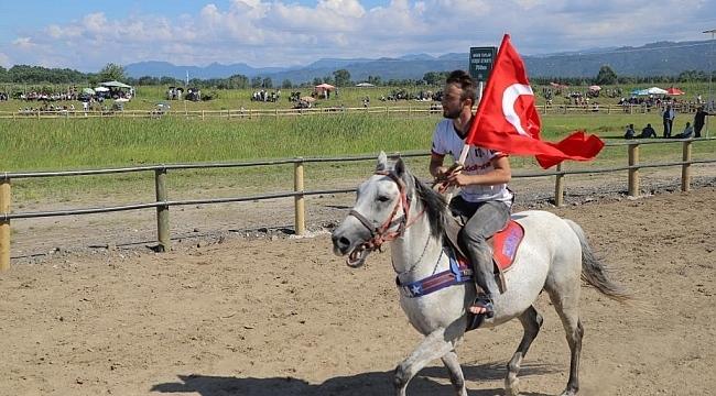 Çarşamba'da Rahvan At Yarışları