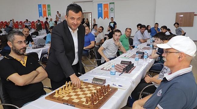 Çarşamba'da satranç turnuvası başladı