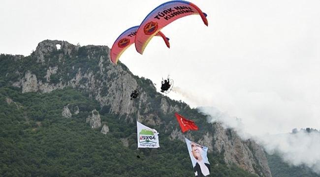 Kapıkaya Fest 3. Doğa Sporları Festivali başladı