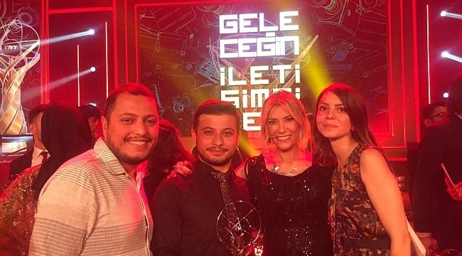 OMÜ İletişim Fakültesi Öğrencilerine TRT'den İkincilik Ödülü