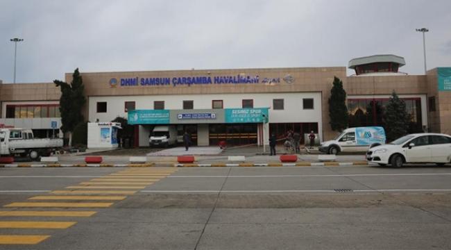 Samsun Çarşamba Havalimanı 6 ayda 752 bin 127 yolcuya hizmet verdi