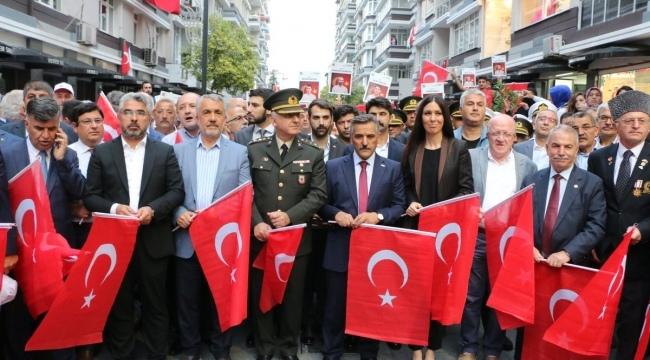 Samsun'da 15 Temmuz Demokrasi ve Milli Birlik Günü yürüyüşü