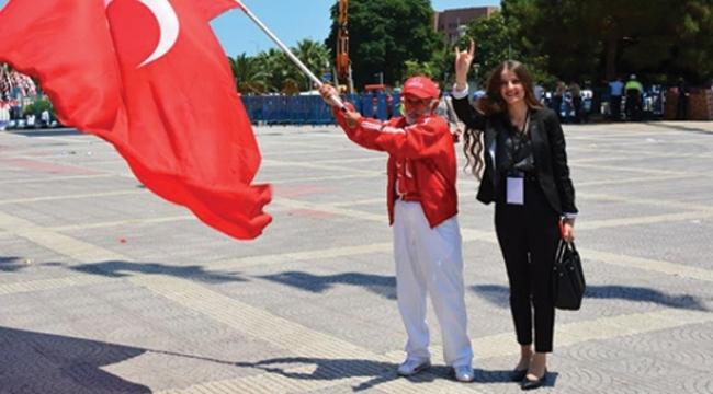 Samsun'da MHP'nin ilk ve tek kadın ilçe başkanı