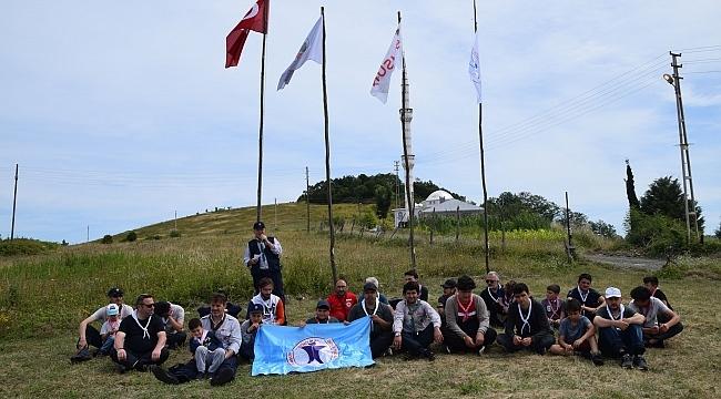 Samsun Yıldız Gençlik'ten 2. baba-oğul ve izci kampı