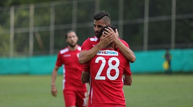 Samsunspor Bayrampaşa'yı 3-0 yendi