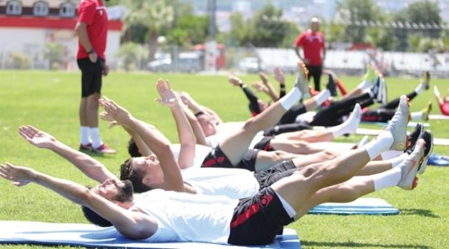 Samsunspor yeni sezon hazırlıklarını sürdürüyor