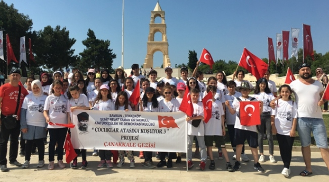 Tekkeköy Şehit Nejat Yaman Ortaokulu'ndan örnek proje