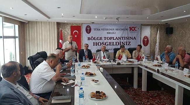 Türk Veteriner Hekimleri Birliği Samsun'da toplandı