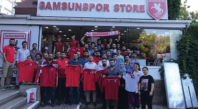 AK Gençlik'ten Samsunspor'a büyük destek
