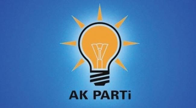 AK Parti'de iki ilçe başkanının istifası alındı
