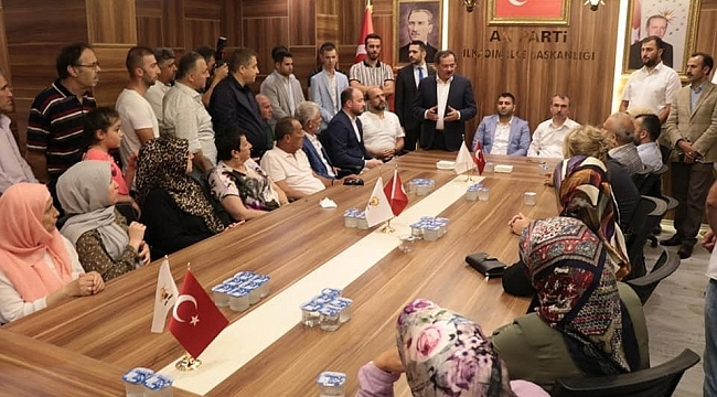 AK Parti İlkadım İlçe Başkanlığında Bayram coşkusu