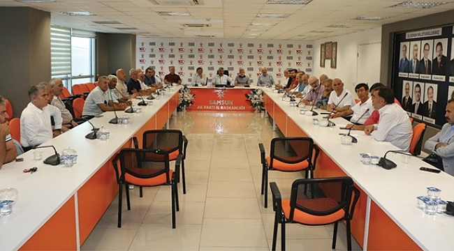 AK Parti Samsun Teşkilatı, Kurucu Teşkilatla Bir Araya Geldi