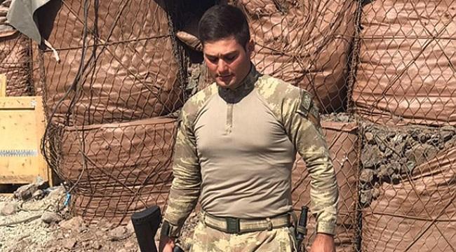 Bafralı asker Kuzey Irak'ta mayına bastı