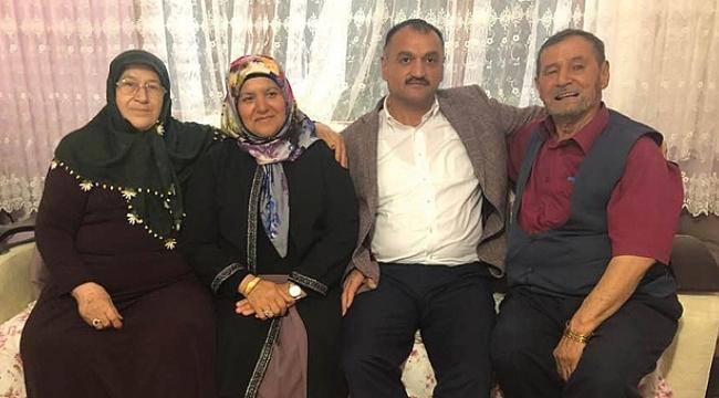 Başkan Akgül'den hacılara ziyaret