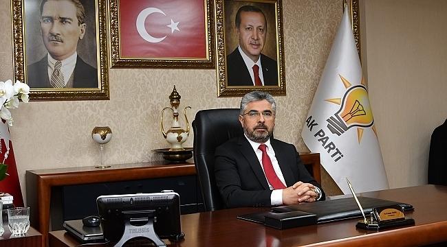 Başkan Aksu: Türk Milleti boyunduruk altına alınamaz