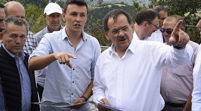 Başkan Demir, çalışmaları yerinde inceliyor