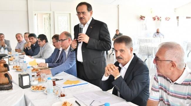 Başkan Demir: Halkımıza borcumuz var, vebalimiz çok büyük