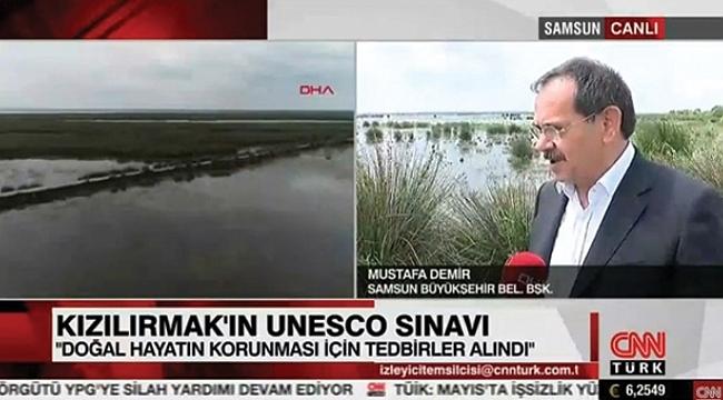 Başkan Mustafa Demir, CNN Türk'te açıkladı