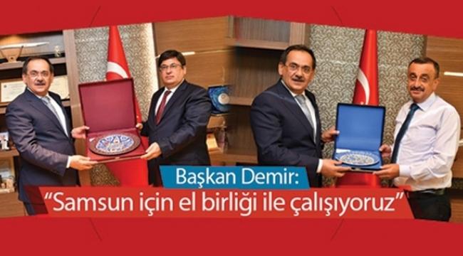 Başkan Mustafa Demir'den 'adalet' turu