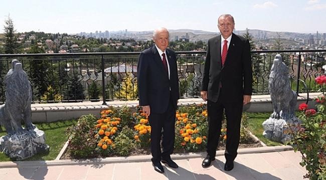 Cumhurbaşkanı Erdoğan'ın, Bahçeli'nin evine gitme sebebi belli oldu
