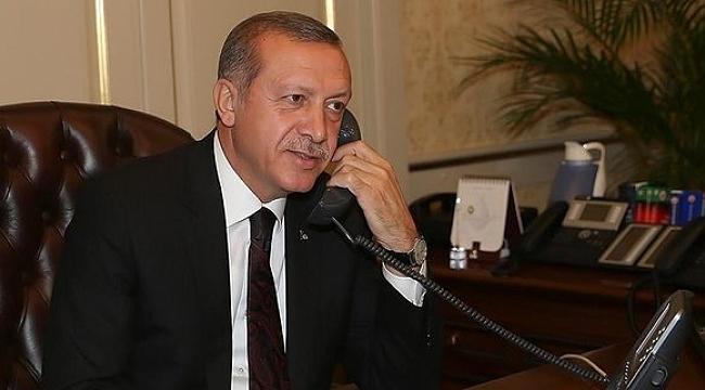 Cumhurbaşkanı Erdoğan, ülke liderleriyle telefonda görüştü