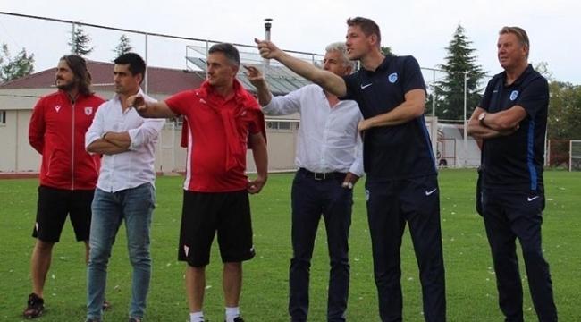 Genk ekibi Samsunspor'da