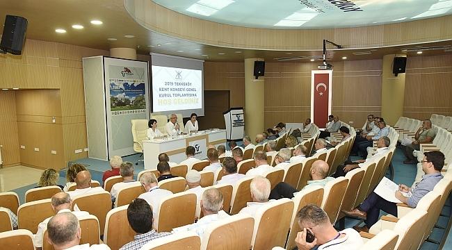 Halil İbrahim Sert Tekkeköy Kent Konseyi Başkanı seçildi
