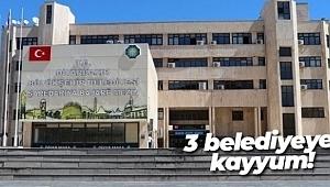 HDP'Lİ 3 BELEDİYEYE KAYYUM