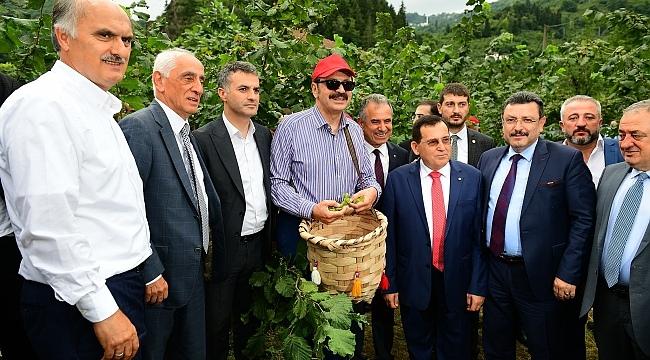 Hisarcıklıoğlu: Fındıkta üretimi de ihracatı da artırmamız lazım