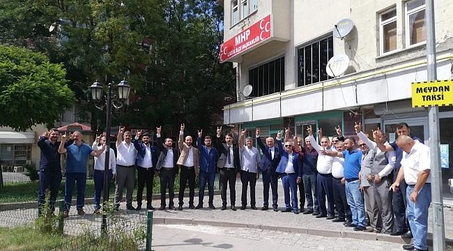 MHP'den Ladik İlçe Başkanlığı'na yeni atama