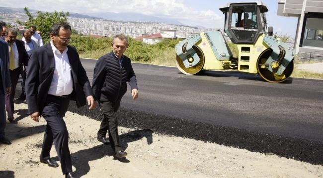 Samsun Büyükşehir'den 167 kilometrelik yeni yol