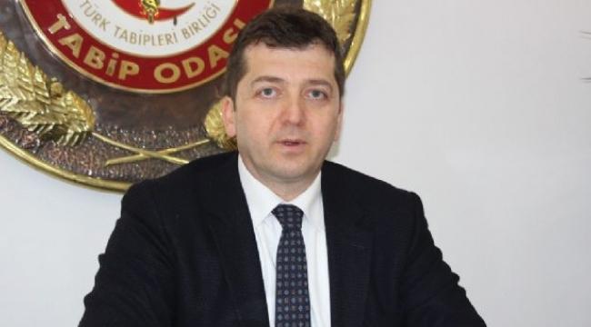 Samsun Tabip Odası Başkanı Erkan şiddeti kınadı