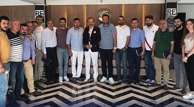 Samsun'un ünlü moda tasarımcısı Haşim Uzun'dan Revizyon PYS'ye eğitim