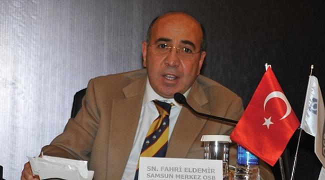 Samsunlu işadamı Eldemir OSBÜK Yönetim Kurulu'na seçildi