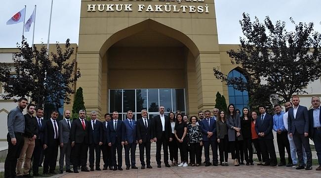 Bakan Gül'den OMÜ Hukuk Fakültesi'ne övgü