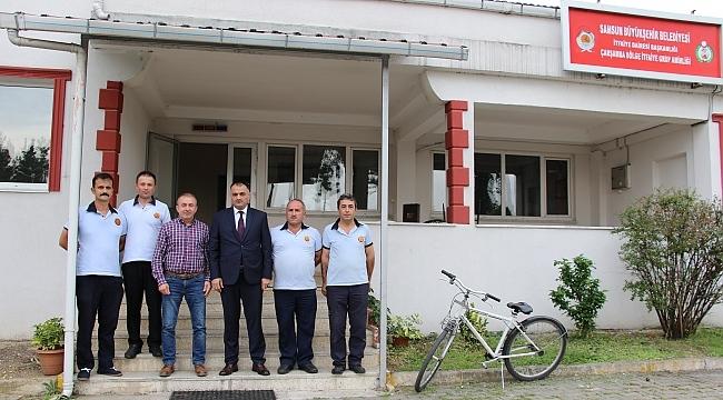 Başkan Akgül İtfaiye Haftası'nı kutladı