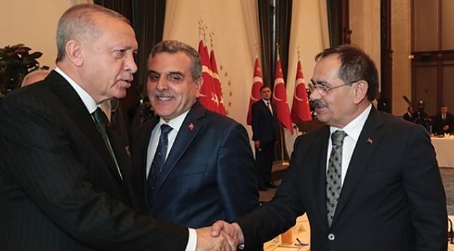 Başkan Demir: Cumhurbaşkanımız hem güç hem moral verdi