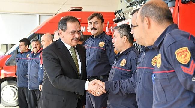 Başkan Demir'den İtfaiye Teşkilatı'na övgü