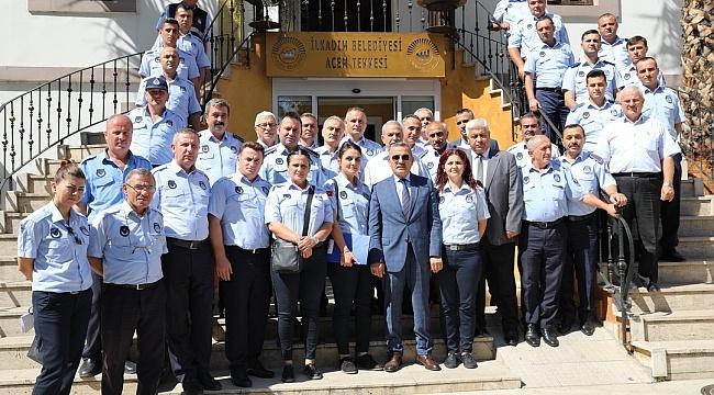 Başkan Demirtaş: Zabıta Haftası'nı personeli ile kutladı