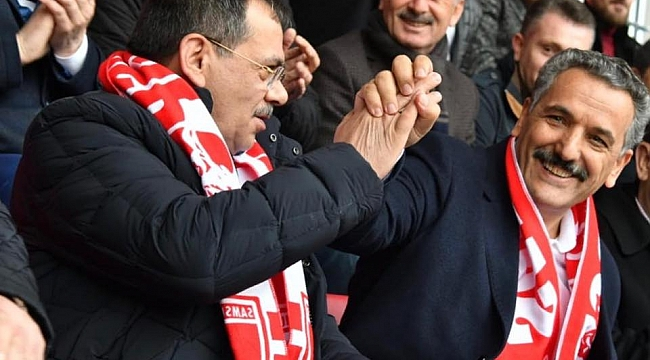 Başkan Mustafa Demir'den Samsunspor taraftarına müjde
