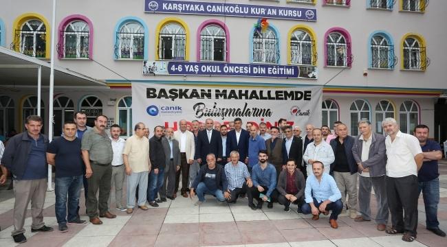 Başkan Sandıkçı: Canik'te birlik beraberlik sağlandı