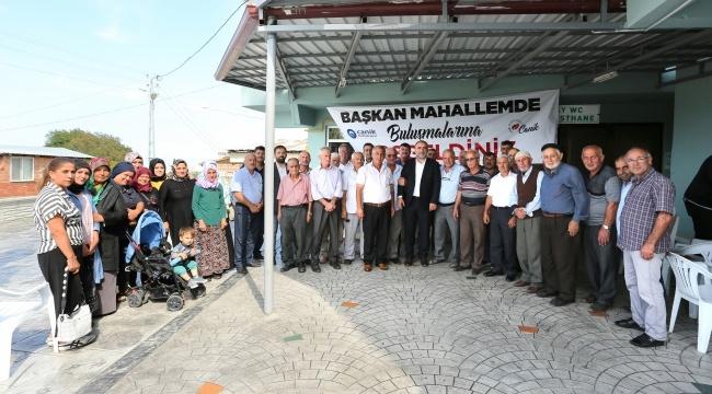 Canik Belediyesi'nden birliktelik örneği
